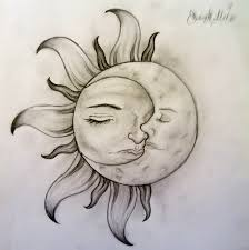 sun and moon moon tattoo designs tattoo designs and moon