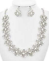 necklace pearl ebay images Pearl jewelry set ebay JPG