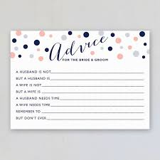 advice cards for the marital advice for bridal shower nudlux