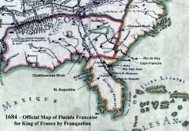 Map Of St Augustine Florida by Historical Maps Of Southeast United States U2013 Access Genealogy