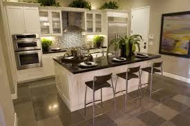 kitchen islands with stoves kitchen island for small space white black pattern ceramic floor