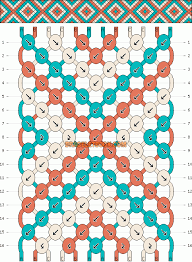 bracelet friendship pattern images Normal friendship bracelet pattern 11433 gif