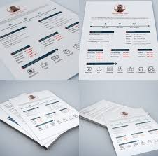 Best Free Resume Builder Mac by 25 Best Free Resume Cv Templates Psd Download Download Psd