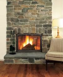 impressive stone cladding fireplace gallery ideas 11265