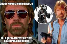 Memes De Chuck Norris - con memes tuiteros se burlan de la muerte y se rinden ante chuck