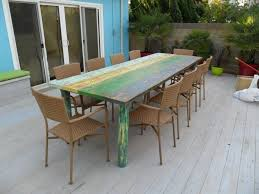 custom made dining room tables hand made dining table multi coloured by oldpine custommade com