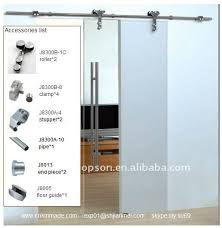 Internal Glass Sliding Door by Interior Glass Sliding Door Full Set Hardware Gd13 Interior Glass