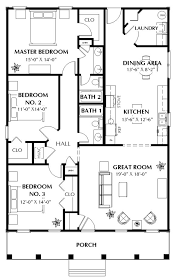 home design for 1500 sq ft the horizon 5660 3 bedrooms and 2 5 baths the house designers