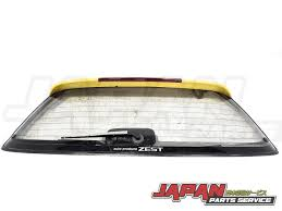 honda civic jdm 92 95 honda civic jdm eg6 oem upper rear hatch glass eh ej eg
