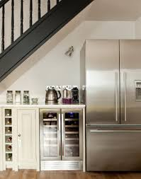 make every inch count with a stylish compact kitchen scheme the