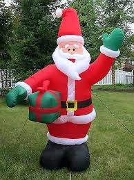 outdoor plastic lighted santa claus outdoor lighted santa claus 8 ft decor ex plastic therav info