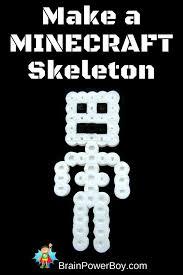 minecraft perler bead pattern skeleton bead patterns perler