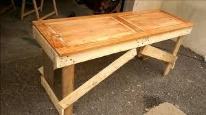 meuble fait en palette banc en palette table en palette table de jardin fait par