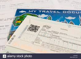 travel documents images Interrailing interrail ticket and travel documents stock photo jpg