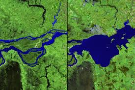Parana River Map 15 Before And After Images That Show How We U0027re Transforming The
