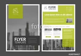 modern brochure template flyer design vector template