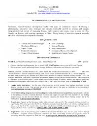 Import Export Resume Sample by The Amazing Linked In On Resume Resume Format Web