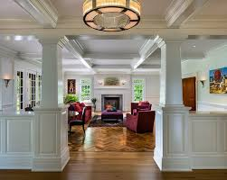 Coffered Ceiling Lighting by Magnificent Parkay Floor Convention Philadelphia Traditional