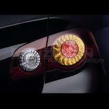 vw led tail lights led rear lights passat r36 look candy red genuine volkswagen