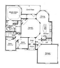 open floor plan blueprints spacious open floor plan house plans with the cozy interior