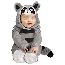 12 18 Month Boy Halloween Costumes Baby Raccoon Infant Halloween Costume 6 12 Months Walmart