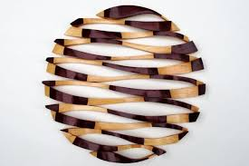 wood wall sculptures horizon wood sculpture wall by dave hogg