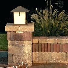solar lights for driveway pillars driveway pillars with lights gate with stacked stone pillars