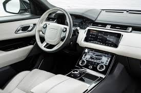 range rover velar inside range rover u0027s velar sets a new standard for luxury suvs