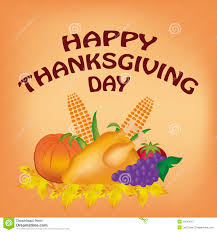 happy thanksgiving day stock illustration illustration of happy