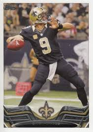 new orleans saints 2014 topps nfl football card team set 2014