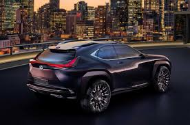 lexus jeep 2016 lexus ux concept revealed in paris autocar