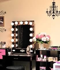 Lighted Vanity Table With Mirror And Bench Bedrooms Unique Bedroom Sephora Style Lighted Mirror Vanity