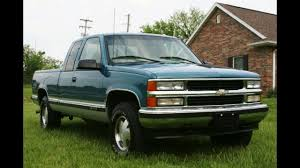 chevrolet silverado pickup 1995 1996 1997 factory service repair