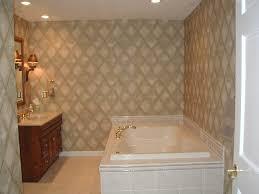 bathroom brown clasiccal bathroom tile flooring white