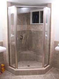 semi framed neo angle shower door unit bathroom pinterest