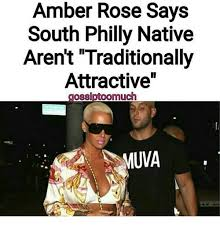 Amber Ls Meme - amber rose says south philly native aren t traditionally