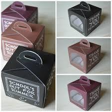 cupcake box pink lemonade bakery