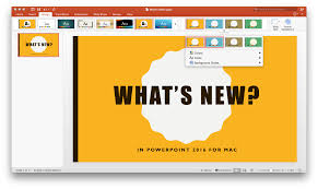 what u0027s new in powerpoint 2016 for mac office blogs