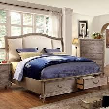 Modern Rustic Bedrooms - white rustic bedroom furniture