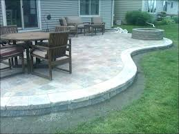 Block Patio Designs Backyard Patio Bricks Patio Bedroom Magnificent Square Patio