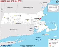 massachusetts on a map where is boston massachusetts located on a map montana map
