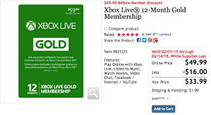 when do amazon black friday deals go live today cheapassgamer costco xbox live gold for 33 99 deal graveyard cheap gamer