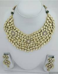 indian bridal necklace images Vilandi kundan indian bridal necklace set jpg
