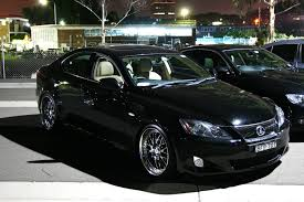 lexus is250 stance is250 with work brm 19