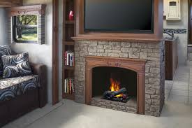 decorating fancy dimplex electric fireplaces with stone mantel fancy dimplex electric fireplaces with stone mantel kit under the television plus book shelves beside for family room decor ideas