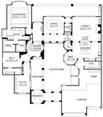 center courtyard house plans plan 16813wg center courtyard window house and