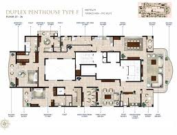 pleasant design ideas 2 penthouse homes floor plans modern luxury