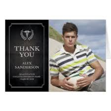 graduation thank you card school graduation thank you gifts on zazzle