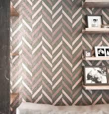 chevron wall stencil allover wall stencil seamless wall