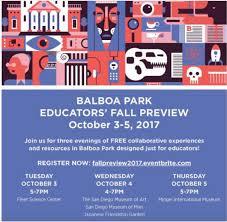 Balboa Park Halloween Activities by Upcoming Events October 2017 Coronado Unified District